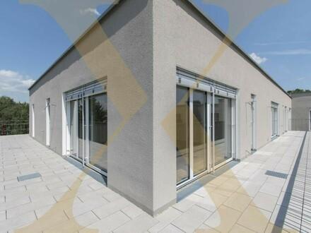 Bhome! Exklusive 3-Zimmer-Neubauwohnung mit 60m² großer Terrasse in Top-Lage zu vermieten! (Top 4.12)