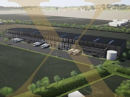 Nach Mieterwunsch adaptierbar! Planbare Gewerbeflächen in Wels - Nord (Stadlhof - Halle 1) zu vermieten!