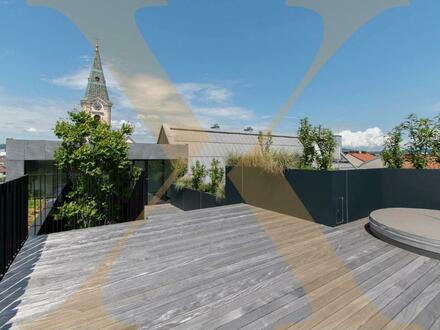 EXKLUSIVES PENTHOUSE! Hochmoderne Erstbezugs-Penthouse-Wohnung mit Dachterrasse im Herzen von Linz zu vermieten!