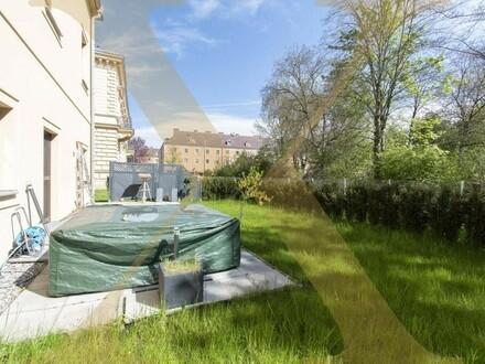 Moderne 2-geschoßige Wohnung mit großer Terrasse, Eigengarten & Parkplätze in Linz zu vermieten!
