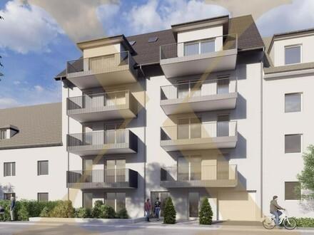 NEUBAU! Erstklassige 2-Zimmer-Wohnung mit ca. 13m² großem Balkon in Linzer Zentrumslage zu verkaufen! (Top 5)