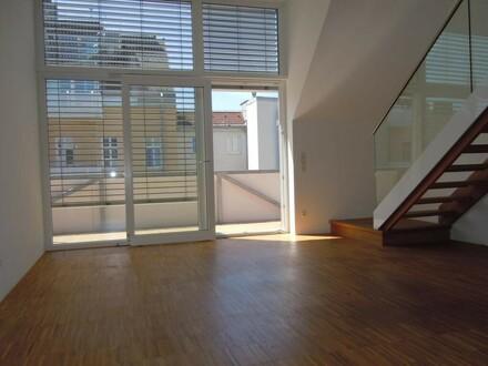 Traumhaftes 3,5-Zimmer-Maisonette-Penthouse mit Balkon, Terrasse und Parkplatz