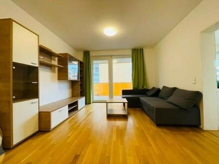 Provisionsfrei und erstes Monat mietfrei!!! Möblierte 3,5-Zimmer-Wohnung mit Balkon - verfügbar ab Jänner 2022