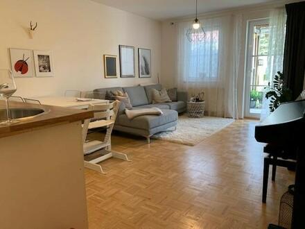 Kompakte 3-Zimmer-Wohnung mit Terrasse, Eigengarten & Garage - verfügbar ab 01. Dezember 2019!