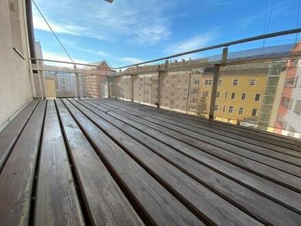 Geräumige, ruhige 2-Zimmer-Wohnung mit hofseitigem Balkon