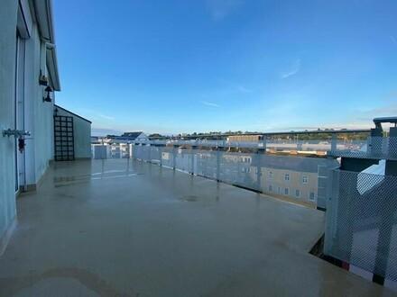 Traumhafte 3-Zimmer-Penthouse-Maisonette-Wohnung mit großer Terrasse & Garage