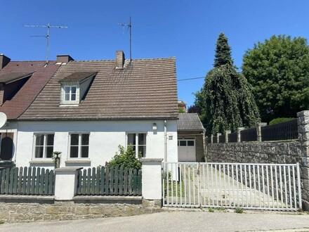 Doppelhaus-Hälfte mit großer Garage in Mauthausen