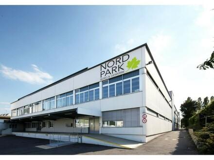 "Lager direkt an Laderampe im Gewerbeobjekt ""Nordpark"" zu mieten - 1210 Wien"