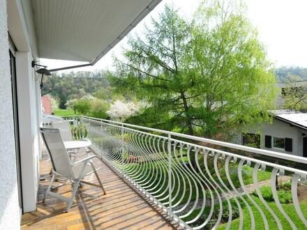 südseitiger Balkon