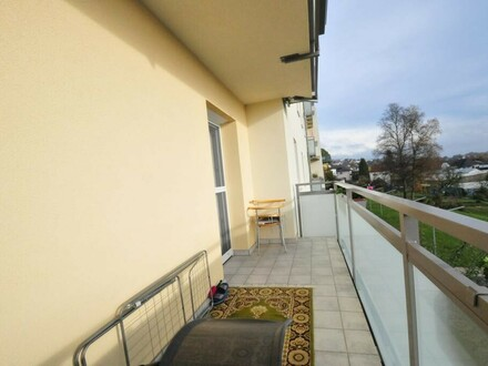 Gut vermietete Eigentumswohnung mit Balkon in ruhiger Zentrumslage!