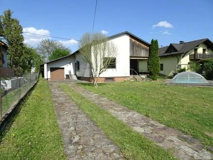 Sonnige, Traumlage Ortszentrum Dietach - Bungalow mit Garage, Abstellplätzen und POOL