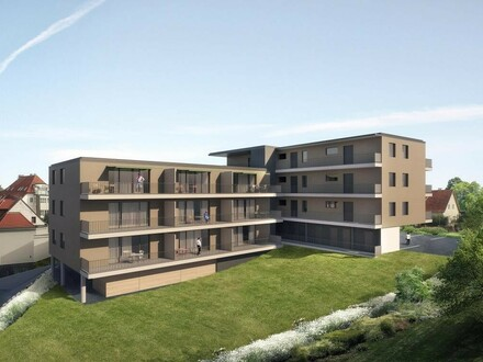 Moderne Neubau-ETW mit Fernsicht; provisionsfrei