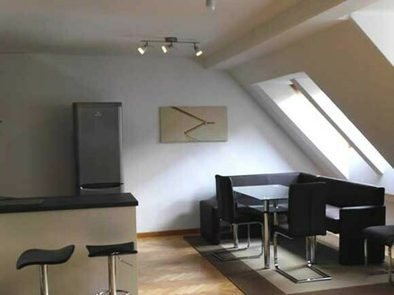 MÖBLIERTE DACHTERRASSENMAISONETTE - FULLY FURNISHED WITH TERRACE
