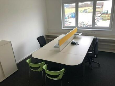 Infrastruktur und Büroraum vorhanden