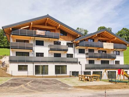 Holztraum Goldegg - Buchberg - Penthousewohnung mit Kamin