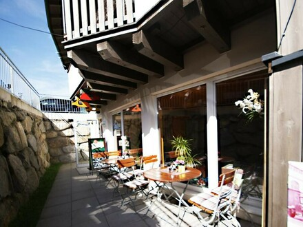 Endlich das eigene kleine Restaurant in Kaprun!
