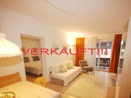 VERKAUFT! 2-Zimmer Ferienwohnung mit Garage und Balkon mit wunderschönem Bergblick