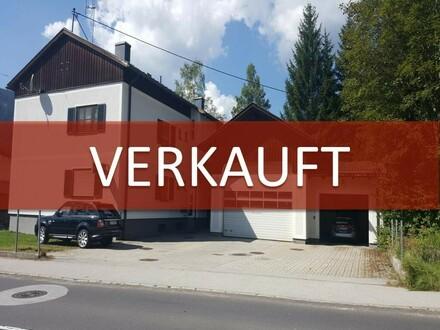 !VERKAUFT! EINMALIGES ANLAGEOBJEKT: Wohngebäude mit Polizeidienststelle und Garage mit ca. 5% Rendite!!!
