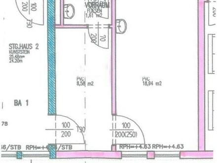 2-Raum Büro, sehr zentral!