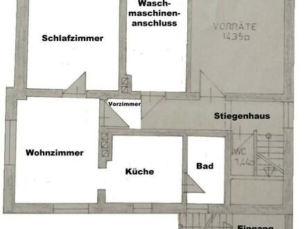 PROVISIONSFREI Nette 2-Zimmer Wohnung in Steyregg mit großer Terrasse