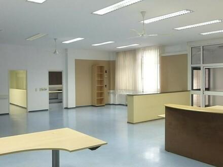 Büro mit beheizter Ergänzungsfläche ( Lager, Austellungen, Montage, Werkstätte... )