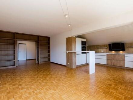 Sonniger Untersbergblick. Grosszügige 3-Zimmer Wohnung mit neuer Küche