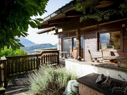 Einfamilienhaus mit traumhaften Ausblick am Berg zu vermieten