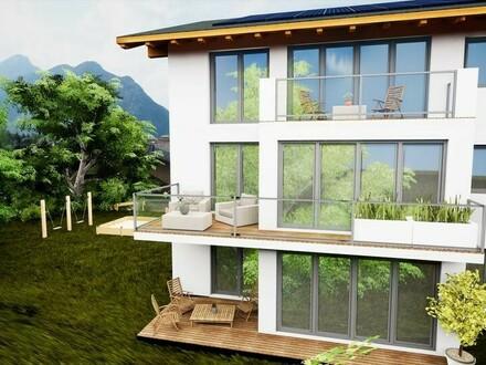 2-Zimmer Wohnung mit grossem Balkon und Autoabstellplatz in Ruhelage