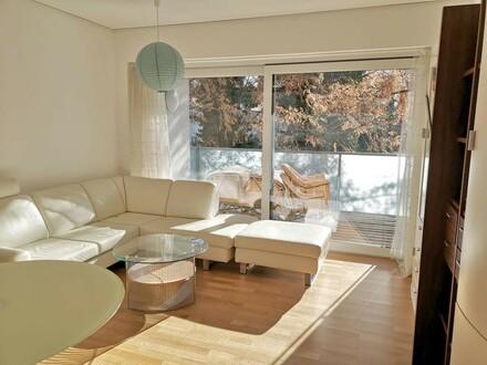 Barrierefreie 3-Zimmer-Wohnung mit Loggia, 2 Bädern und 2 TG-Abstellplätzen. Zweitwohnsitz möglich.