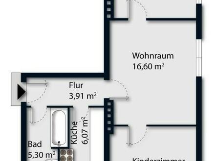 Zentrale 3-Zimmer Wohnung in Schallmoos - WG geeignet!
