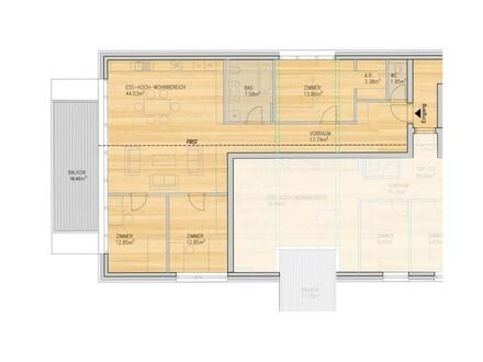 4-Zimmer Wohnung mit Balkon Top 2.10