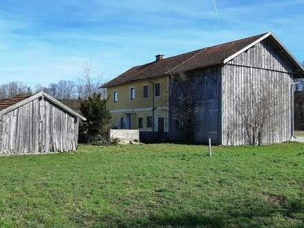 altes Haus auf sonnigem, ruhigem Grundstück