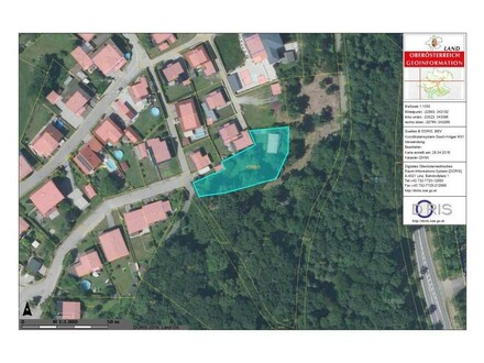 Lageplan Baugrund Ranshofen