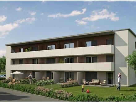 ERSTBEZUG - 2 Zimmerwohnung mit Eigengarten