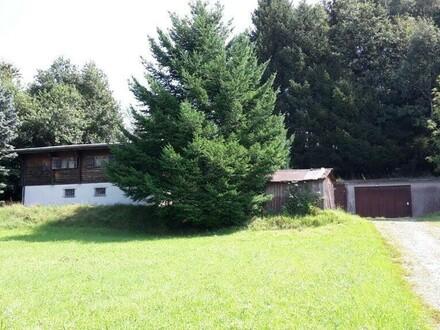OPEN HOUSE am Freitag, den 18. Mai um 14:00 Uhr Haus mit kleinem Wald