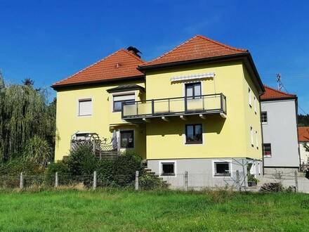 OPEN HOUSE, am 2.11. um 11 Uhr - Schönes und sehr gepflegtes Zweifamilienhaus im Zentrum von Eggelsberg