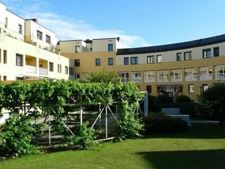 Innenhofbereich des Wohnkomplexes