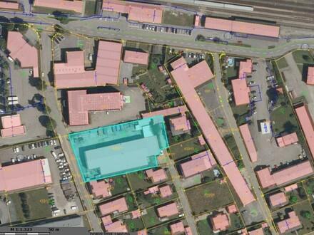 Mischgebiet auch Baugrund in bester Lage ca 900 m2 Halle und Bürogebäude 2-stöckig