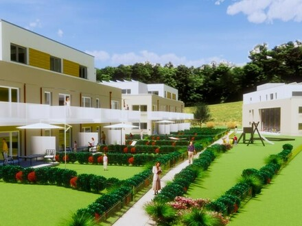 Wohnen im Grünen - Eigentumswohnung TOP 6 im 1.OG mit Balkon