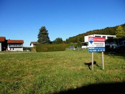 Baugrundstück Ach- Raschbachersiedlung