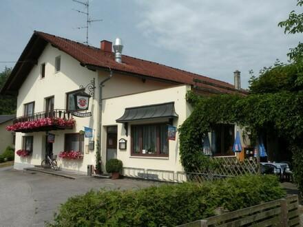 Bestens eingeführtes Gasthaus mit schönem Gastgarten in Ranshofen bei Braunau