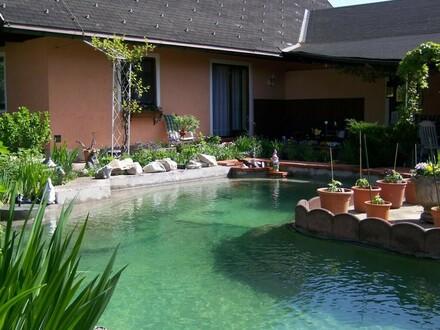 Sehr gepflegtes Einfamilienhaus Nähe Munderfing - Garten / Pool mit Urlaubsfeeling