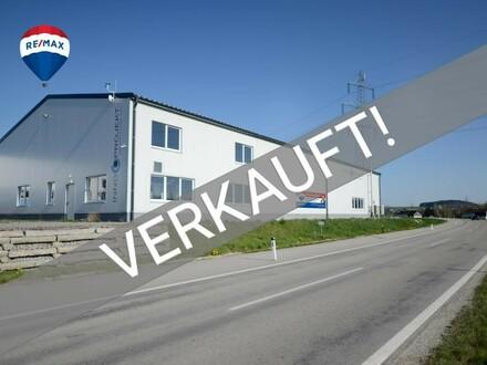 Neuwertige Produktions- und Lagerhalle