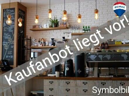 Cafe - Lokal mit Tankstelle