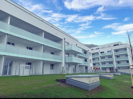 Steyregg: FREI.RAUM - GARTENWOHNUNG - NEUBAU ERSTBEZUG im WOHNPARK STEYREGG mit ca. 54,15 m² Wohnfläche + EIGENGARTEN