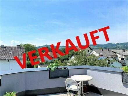 LINZ/URFAHR (Nähe Linzer Straße): DACHTERRASSEN - EIGENTUMSWOHNUNG Wohnfläche von ca. 89,48 m2 + ca. 19,72 m2 Dachterra…