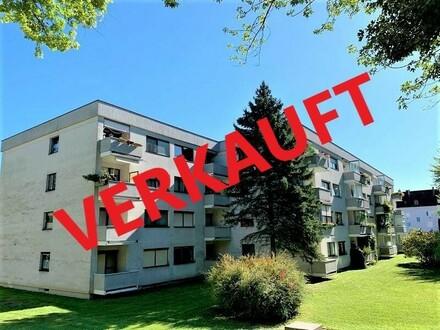 Linz/Urfahr (Am Fuße vom Bachlberg): Eigentumswohnung mit ca. 78,74 m2 Wohnfläche + Loggia und Tiefgaragenstellplatz