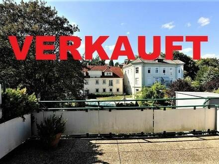 Linz/Stadt : DACHGESCHOSS - EIGENTUMSWOHNUNG am Fuße des RÖMERBERGS ca. 85,6 m2 inkl. Loggia + ca. 20 m2 TERRASSEN