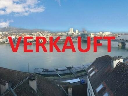 Linz/Stadt : DONAUBLICK - DACHGESCHOSS - EIGENTUMSWOHNUNG in SCHLOSSBERG-NÄHE ca. 149,18 m2 Wohnfläche + GARAGENSTELLPLATZ