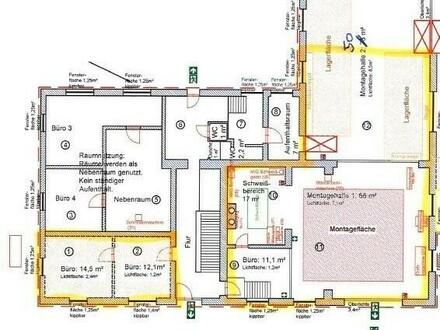 Hargelsberg: Gewerbeobjekt - Halle ca. 144m² + Büro ca. 26,6m²